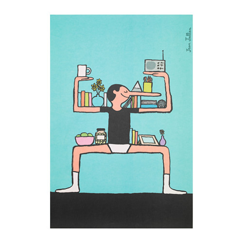 illustrateurs-affiches-edition-limitee-art-event-ikea-2017-Jean-Jullien