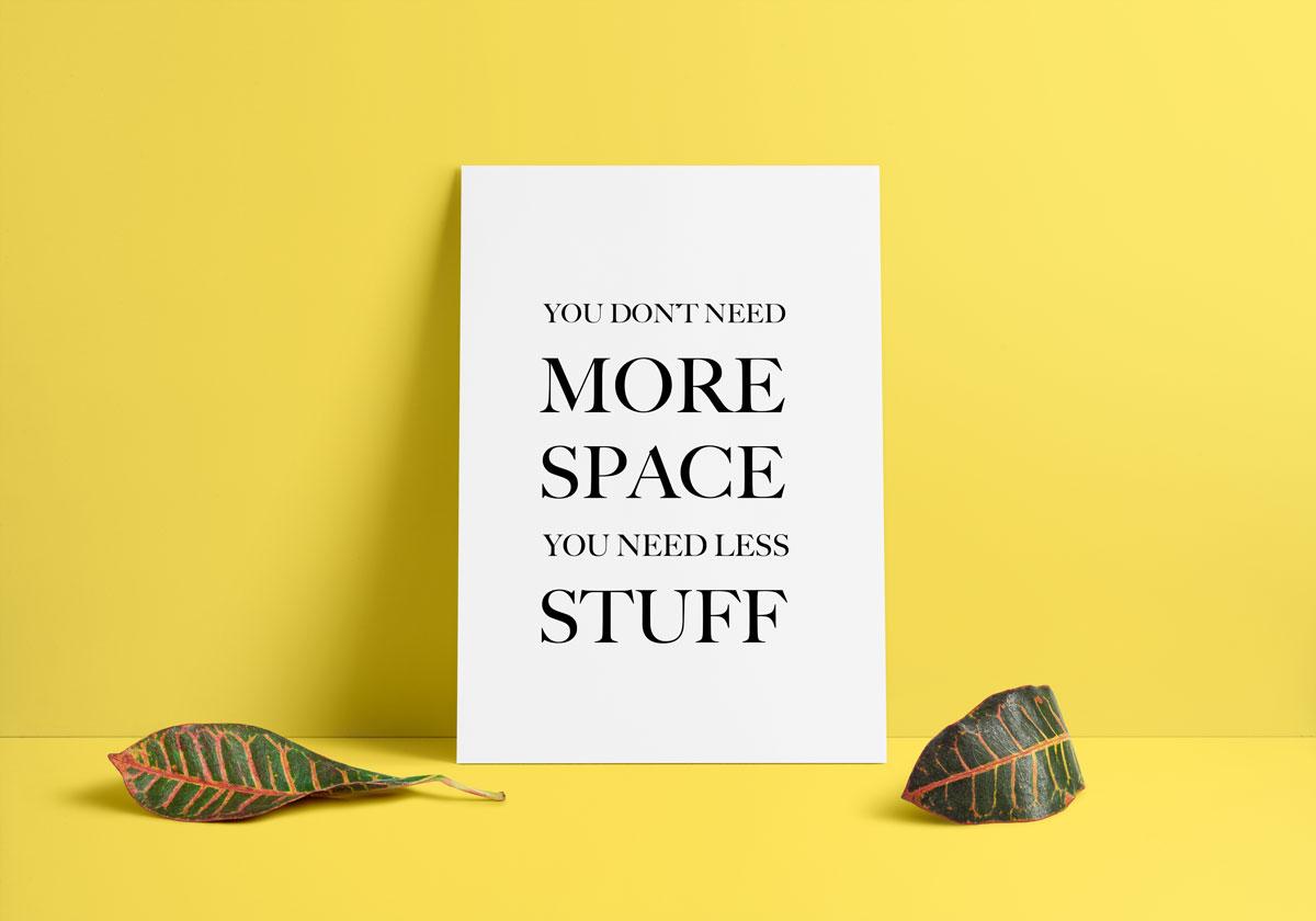 5 conseils pour d sencombrer sa maison et sa vie la pigiste blogue - Desencombrer sa maison ...