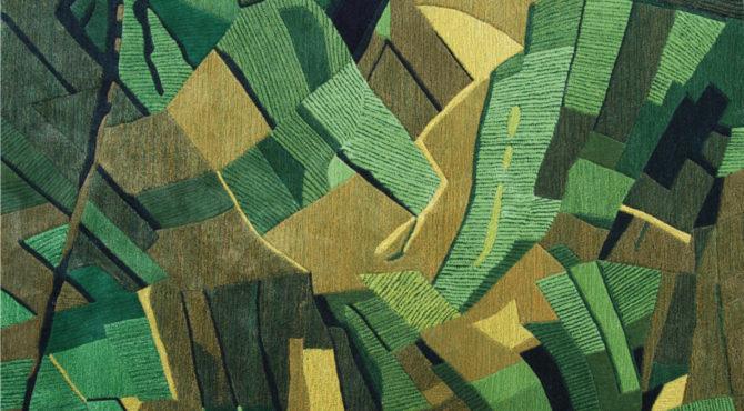 des-tapis-inspires-par-yann-arthus-bertrand-La Terre vue du Ciel ciudad-guatemala