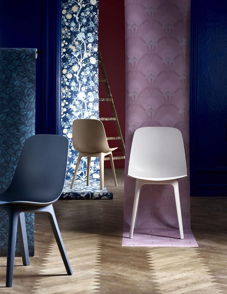 Nouveaute Ikea Chaise 100 Recyclee Materiaux Plastique Recyclage