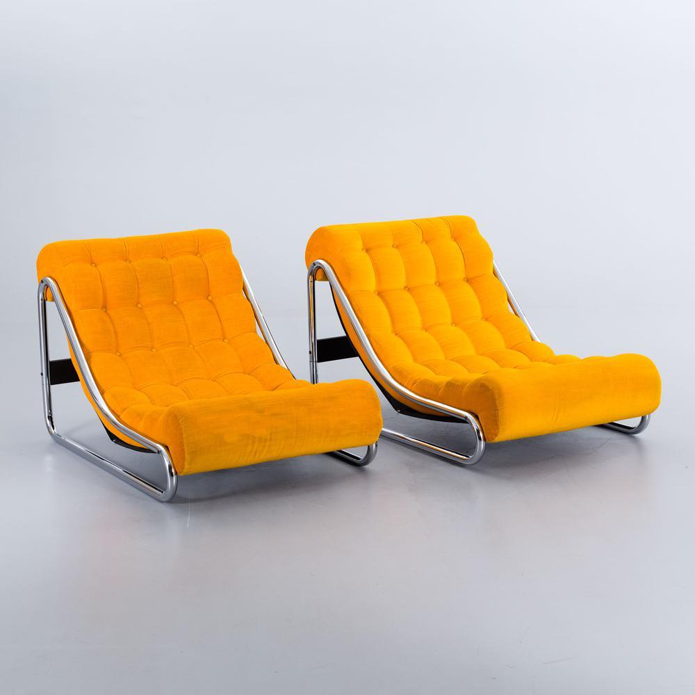 Les fauteuils «Impala», adjugés 680 € par la maison de vente Bukowskis, Ikeaikea-vintage-rétro-kit-devenu-chic-vente-aux-encheres