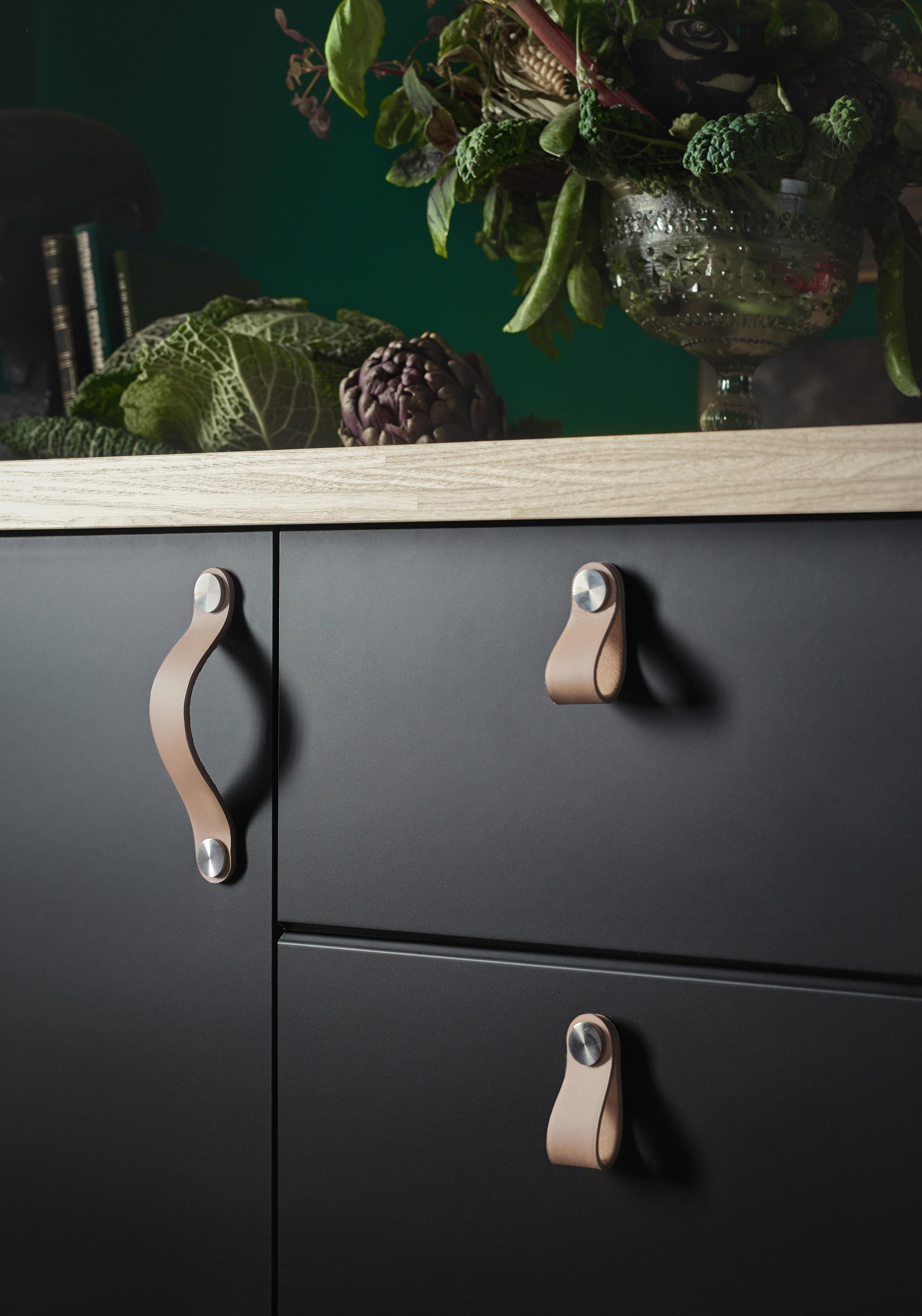 Poignée De Cuisine Ikea les poignées en cuir ÖsternÄs : le détail qui change tout