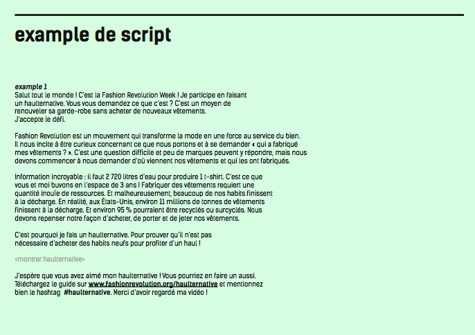 youtube-participer-a-la-fashion-revolution-en-publiant-un-haulternative-exemple-de-script