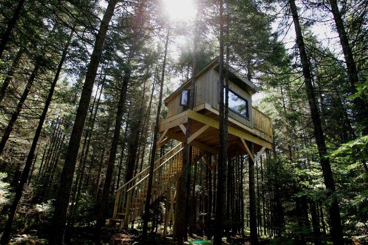 logement-insolite-10-cabanes-dans-les-arbres-a-louer-au-quebecKabania – Notre-Dame-de-la-Merci