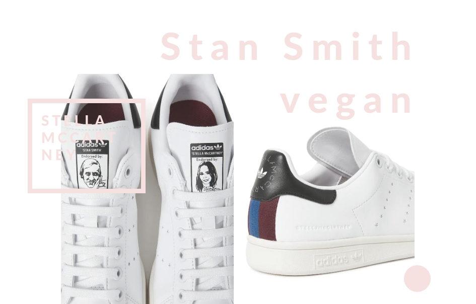 pretty nice 249e7 2f416 Les premières Stan Smith vegan par Stella McCartney - La ...