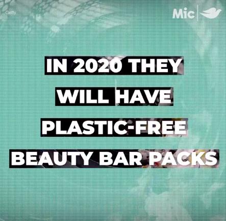 Dove est de réduire son utilisation de plastique